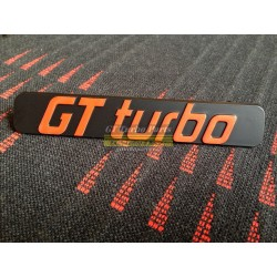Anagrama parrilla GT Turbo Fase 1
