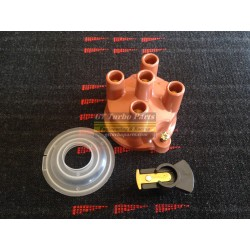 Bouchon de distribution avec rotor et cache-poussière