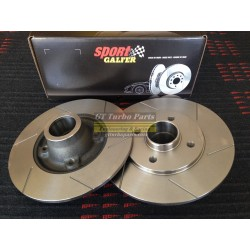 Front slotted brake discs GALFER