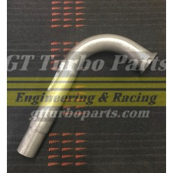 "Steel exhaust elbow ""swan neck"", STD diameter."