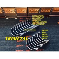 Trimetallic rod beating