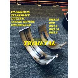 Trimetallic main bearings