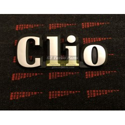 "Rear boot ""Clio"" badge"