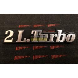 """2.0L Turbo"" Badge"