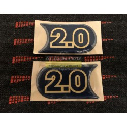 "Side ""2.0"" Williams badge (x2)"