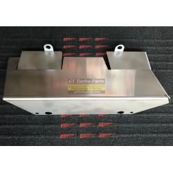 Écran thermique en acier inoxydable pour collecteur.
