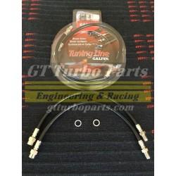 Rear flexible brake lines Galfer.