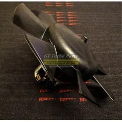Motor y turbina ventilador calefacción