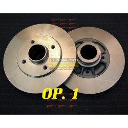 Rear brake disc set of 2. (Select additional options).