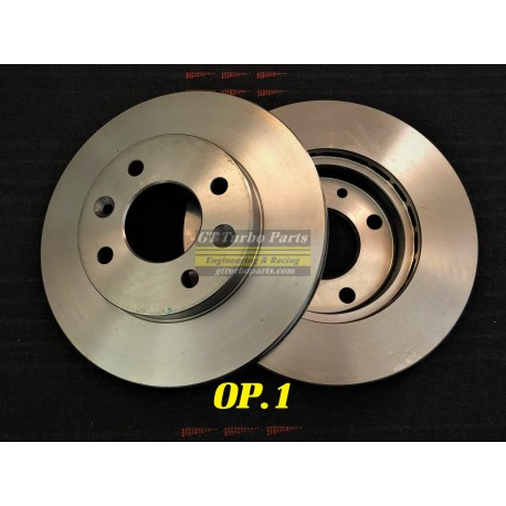 Front brake disc set of 2. (Select additional options).