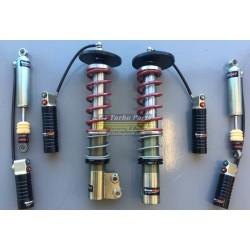 3-way adjustable Technoshock dampers (set). Including springs.