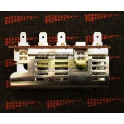 Heating fan resistor