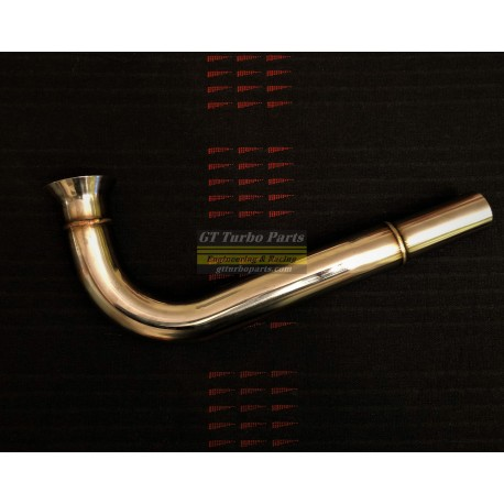 Stainless steel exhaust elbow