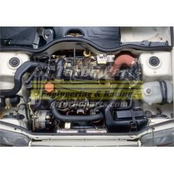 Reconstrucción de motor con rodaje y comprobación en banco.